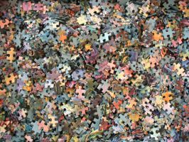 Puzzle Pieces by SunnyStock