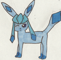Glaceon! by SunnySenshi