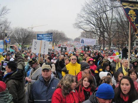 March for Life 2012 v2 by Aodhagain