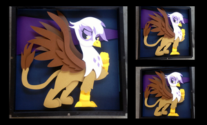 Commission: Gilda the Griffon by The-Paper-Pony