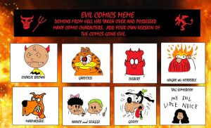 My Evil Comic Meme by AVRICCI