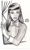 A sketch a day: Judy Garland by Electagonist