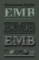 Embossed 3D-Look Styles by MuzikizumWeb