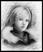 Sherry Birkin Speed Sketch by nicegal1