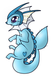 Updated Vaporeon Top by AbyssinChaos