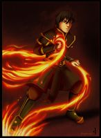 Avatar - Prince Zuko by BlueHunter