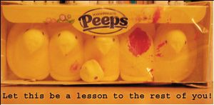 Peeps by creativelybankrupt