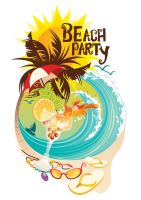 Beach Party by Applemoment