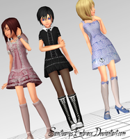 {MMD Download} NamiXiKai Lolita by SanctuarysEmbrace