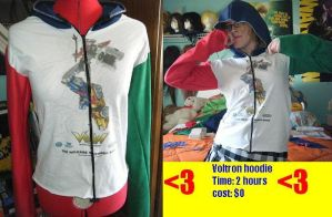 voltron hoodie by ChelseaHavoc