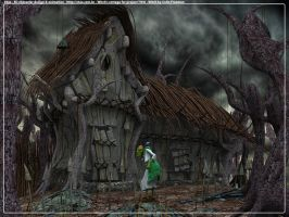 Witch's Cottage by xtaz-design