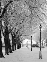 Winter Alley by AndySimmons