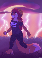 I am Strong - Commission by strawberryneko33