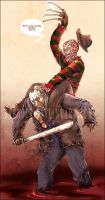 Riding Jason Voorhees by Sabnock