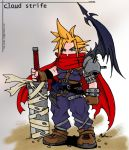 kh cloud strife by sarrus