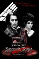 Sweeney Todd Movie Poster 05 by Pyrochimp