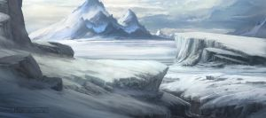 Coldland by HazPainting
