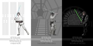 STAR WARS Trilogy by edgarascensao