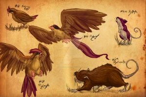 Realistic Pokemon Sketches- Page 3 by TopHatTruffles
