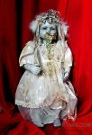 NURSERY CRYMES Sickinda - Gothic Horror Doll by NAKT-HAG
