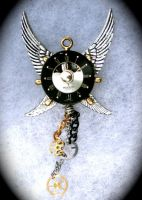 Steampunk 4 Wing Clock Face by Lucky978