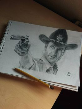 Rick Grimes by Mrs-Industrial