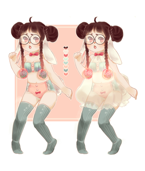 Lingerie Adopt: CLOSED by milk-hug