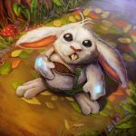 Enchanted Bunny-Mystic Warlords of Ka'a by pinkhavok
