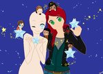 Request:OC or you, MJ and many others base by msmshoi