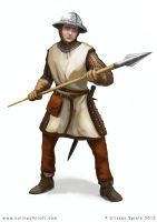 RPG character soldier by Colin-Ashcroft