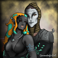 Trade--Zant and Ellise by Anilede