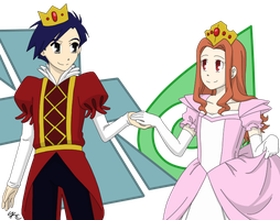 Princess Mimi and Prince Joe by Poefish