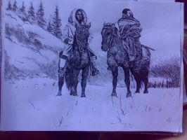 The north american indian by Lidia6277
