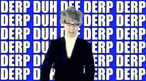 DERP GIF by GifsandStock