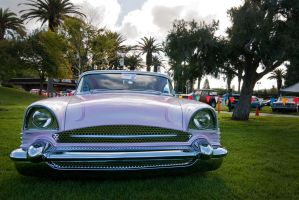 Chopped Pink Packard by SharkHarrington