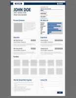Aurel Resume Premium Template by bluepitox