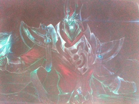 karthus- the deadly song, take me 5 days to draw by hoailinh852123
