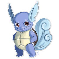 #008 Wartortle by feh-rodrigues