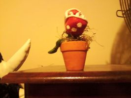 Mario Brothers Piranha Plant - Adopt a Plant ! by SpaceRanger108