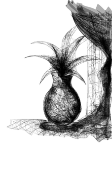 plant in a vase by Ch1arII
