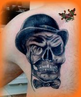 victorian skull.done,..thanks to John by loop1974
