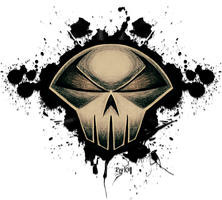 Spawn of Skull Logo by KellCandido