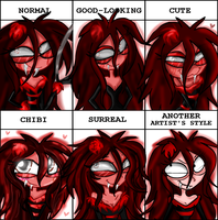 Bloody meme style by Fun-Time-Is-Party