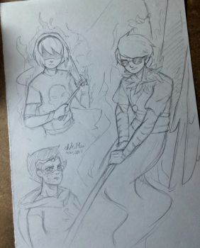 Homestuck Sketches by chAsMou