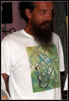 santos with santoshirts green abstract by santosam81