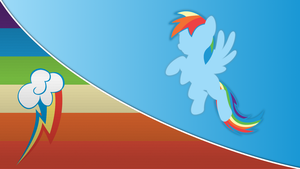 Rainbow Dash Wallpaper [Series 3] by Mateo-theFox