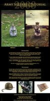 Army Squirrel Tutorial by Neijman