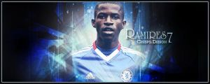 Ramires Chelsea Banner by Cre5po