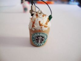 starbucks coffee caramel frapp by cutieexplosion