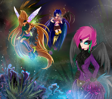 Winx: The New World by Alen-AS